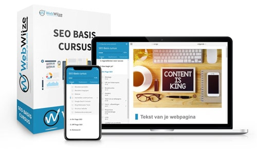 SEO Basis cursus - WebWijze